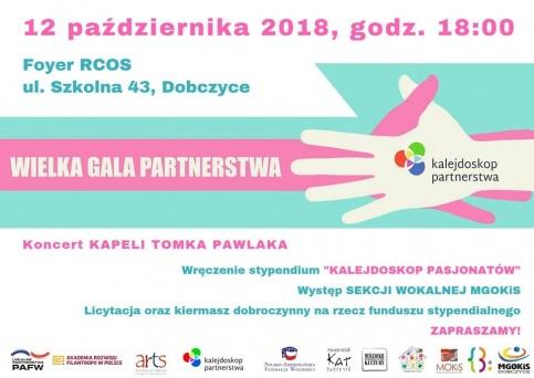 II Gala Kalejdoskopu Partnerstwa