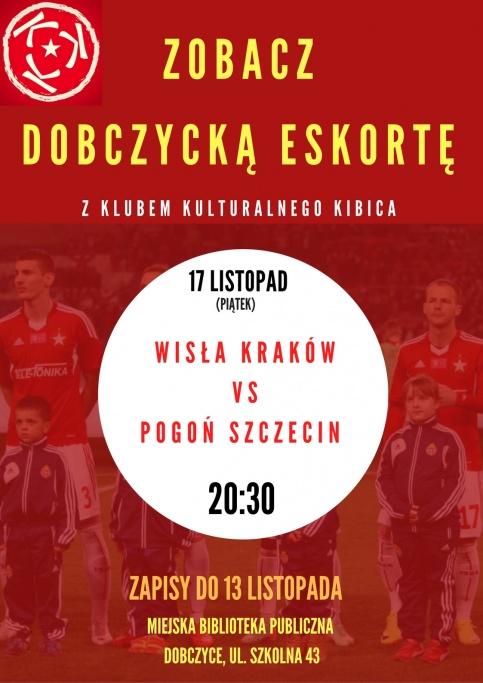 plakat - wyjazd na mecz